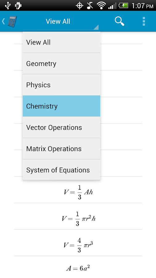 Math App - screenshot