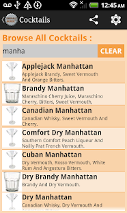 Drinks Guide™ Cocktail Recipes - screenshot thumbnail