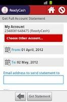 Screenshot of ReadyCash Mobile Money