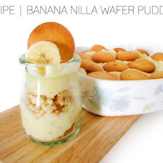 Banana Nilla Wafer Pudding