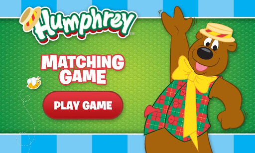 Humphrey B Bear Matching Game