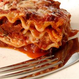 Homemade Lasagna.