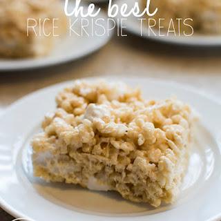 The Best Rice Krispie Treats.
