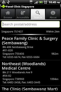 Panel Clinic Singapore - screenshot thumbnail