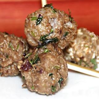 Turkey/Chicken Meatballs using Oats.