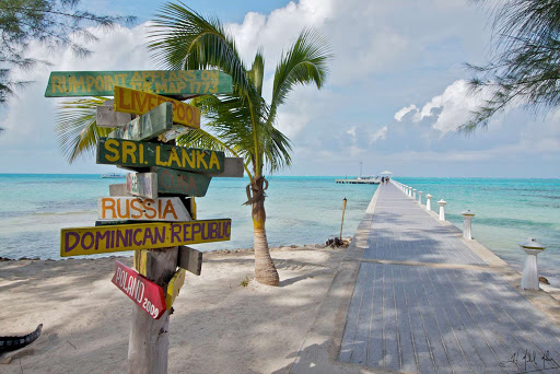 Rum Point on Grand Cayman Island,