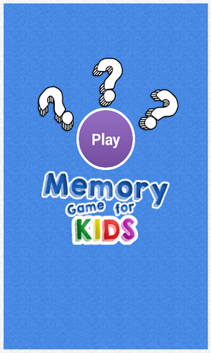 Kids Memory Game for Education