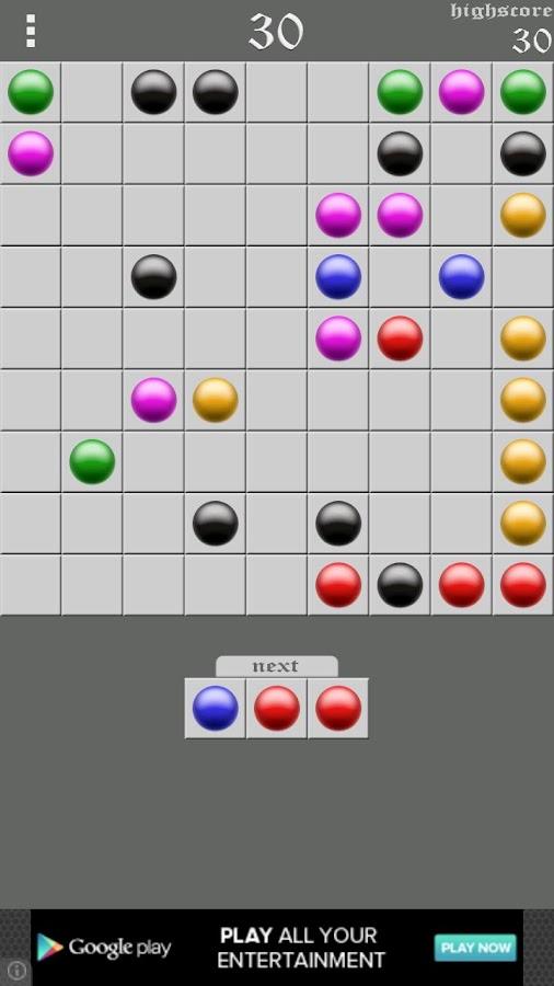 Color Lines- screenshot