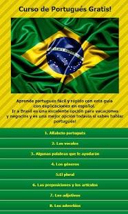 Curso de Portugues gratis