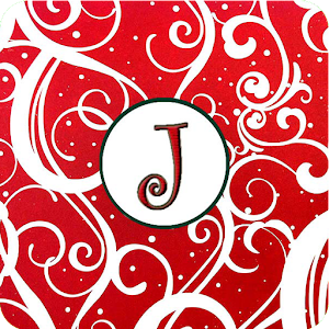 Christmas Monogram J Live WP for Android