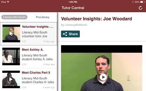 Literacy Mid-South - screenshot thumbnail
