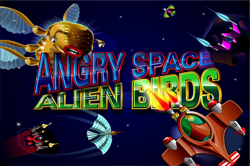 Angry Space Alien Birds