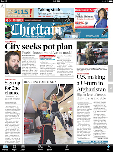Pueblo Chieftain E-edition- screenshot thumbnail