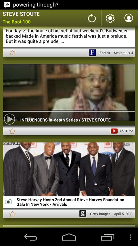 Steve Stoute: The Root 100 - screenshot