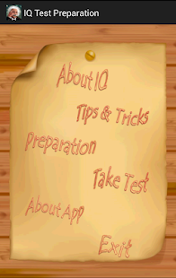 IQ Test Preparation