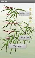 Screenshot of Tangram Designer Tangroid Free