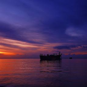 Morning Glory by Frans Widi - Landscapes Sunsets & Sunrises