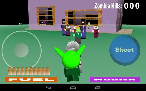 Alien Zombie Soul Hunter