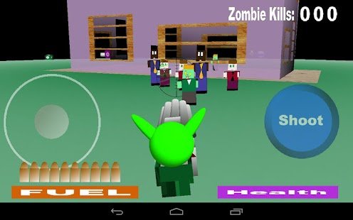 Alien Zombie Soul Hunter- screenshot thumbnail