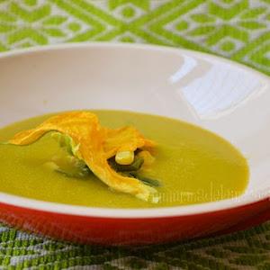Pumpkin Flower Soup