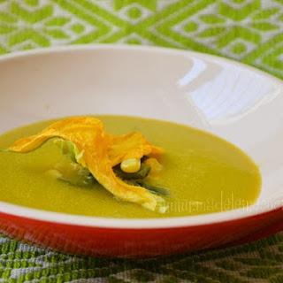 Pumpkin Flower Soup.