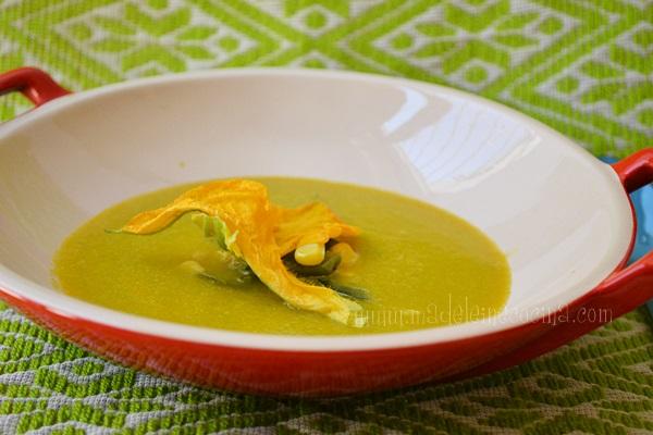 Pumpkin Flower Soup Recipe