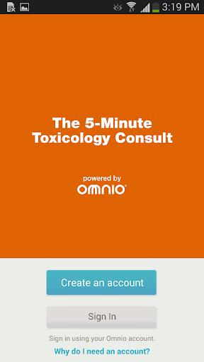 5 Minute Toxicology Consult