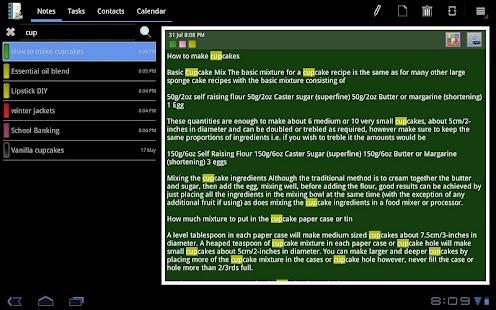 VCOrganizer TabLite- screenshot thumbnail