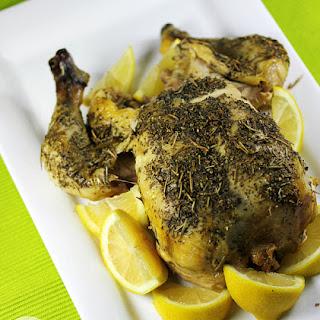 Lemon Herb Slow Cooker Chicken