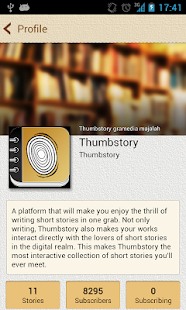 Thumbstory - screenshot thumbnail