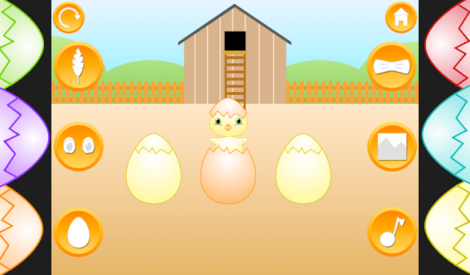 Baby Egg Hatch - Easter Chicks - screenshot
