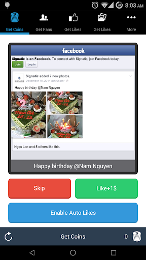 FBLikes for Facebook Pages