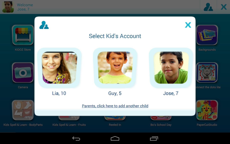 KIDOZ - Play Mode for Kids - screenshot
