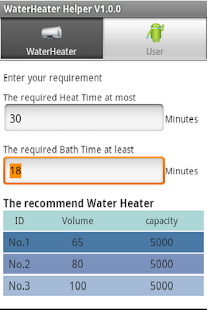 water heater Helper - screenshot thumbnail