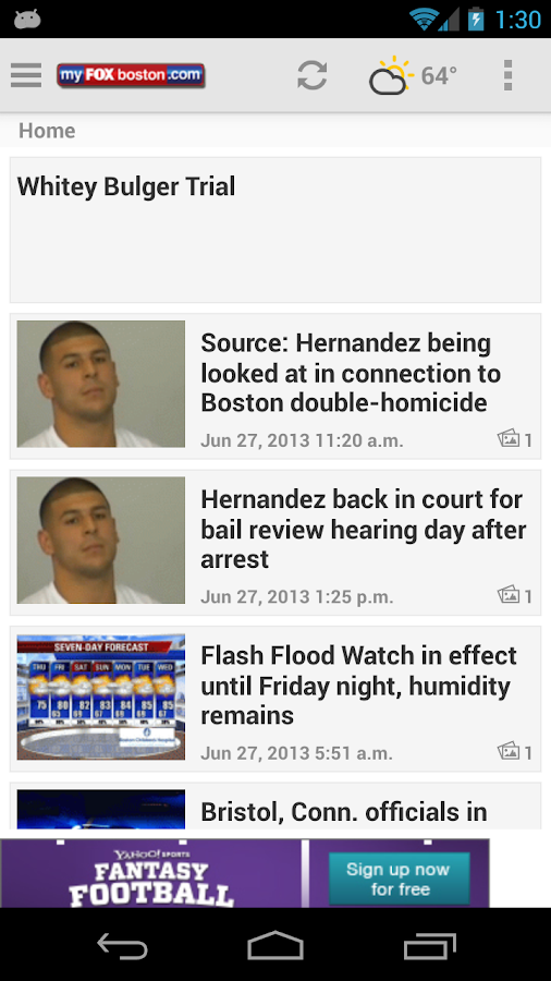 MyFoxBoston FOX 25 News - screenshot