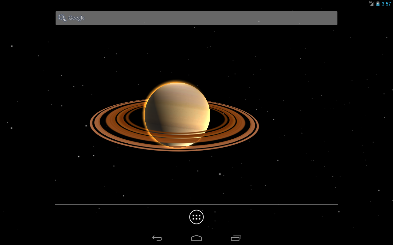 Planets 3D Live Wallpaper - screenshot