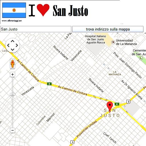 San Justo maps