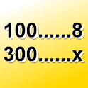 Trojčlenka úměrnost kalkulátor