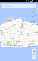 Screenshot of Male' Map