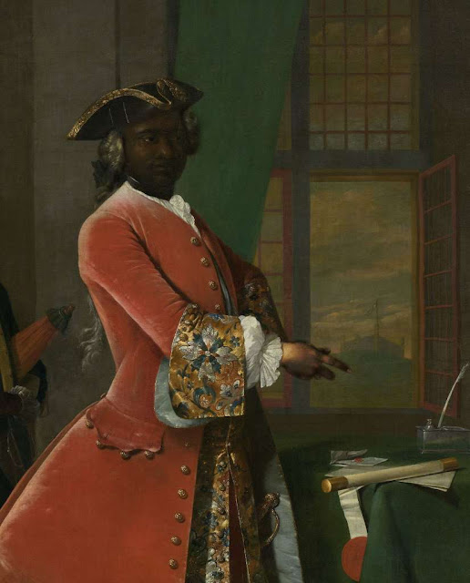 Portrait of a black man
