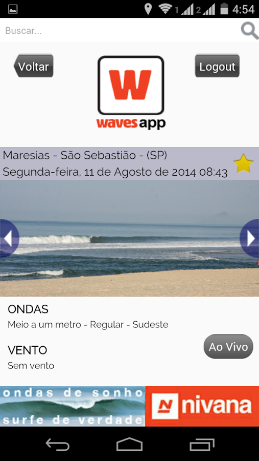 Waves- screenshot