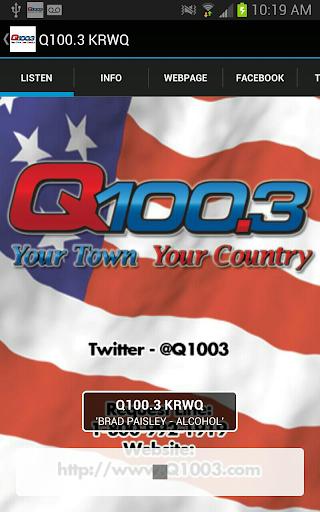 Q100.3 KRWQ