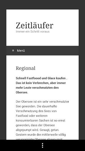 【免費新聞App】Zeitläufer-APP點子
