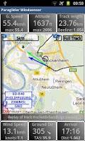 Screenshot of Paraglider Dashboard