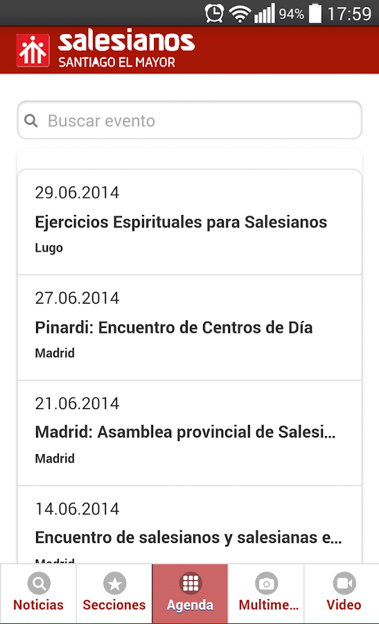 Insp. Salesiana Santiago Mayor- screenshot