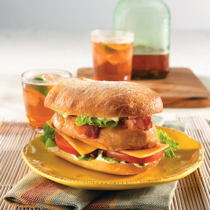 Mile-High Chicken Sandwich Recipe