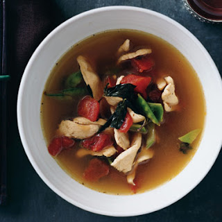 Thai-Style Chicken Soup with Basil.