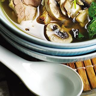 Five-spice Roast Pork With Miso Soup