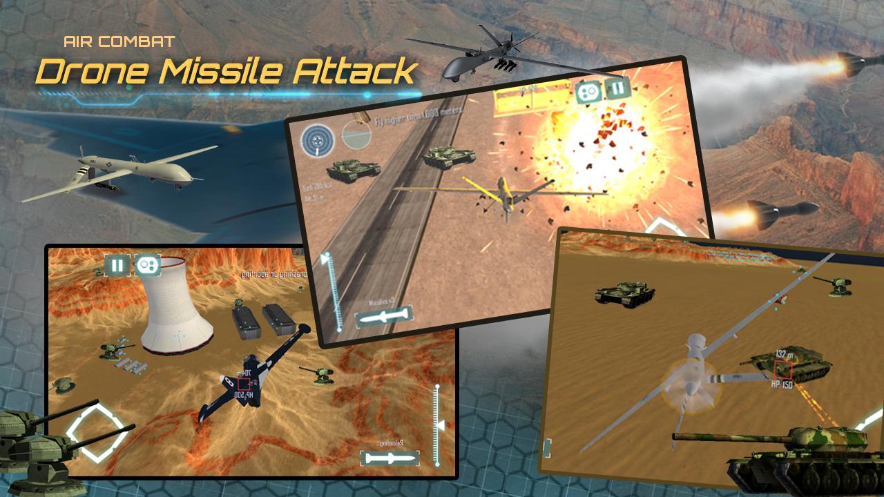 Air-Combat Drone Simulator 3D