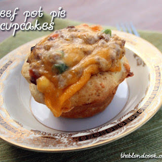 Beef Pot Pie Cupcakes
